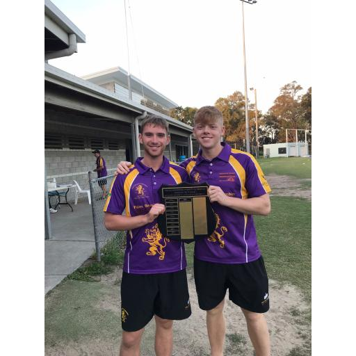 Hill lads Down Under - Blog #1 - Trophy winners already