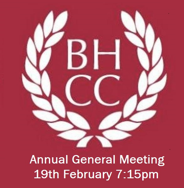 Notice of Annual General Meeting (19th Feb) and Minutes from 2019 AGM