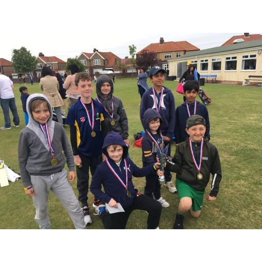 Under 9s success at Gateshead Fell festival