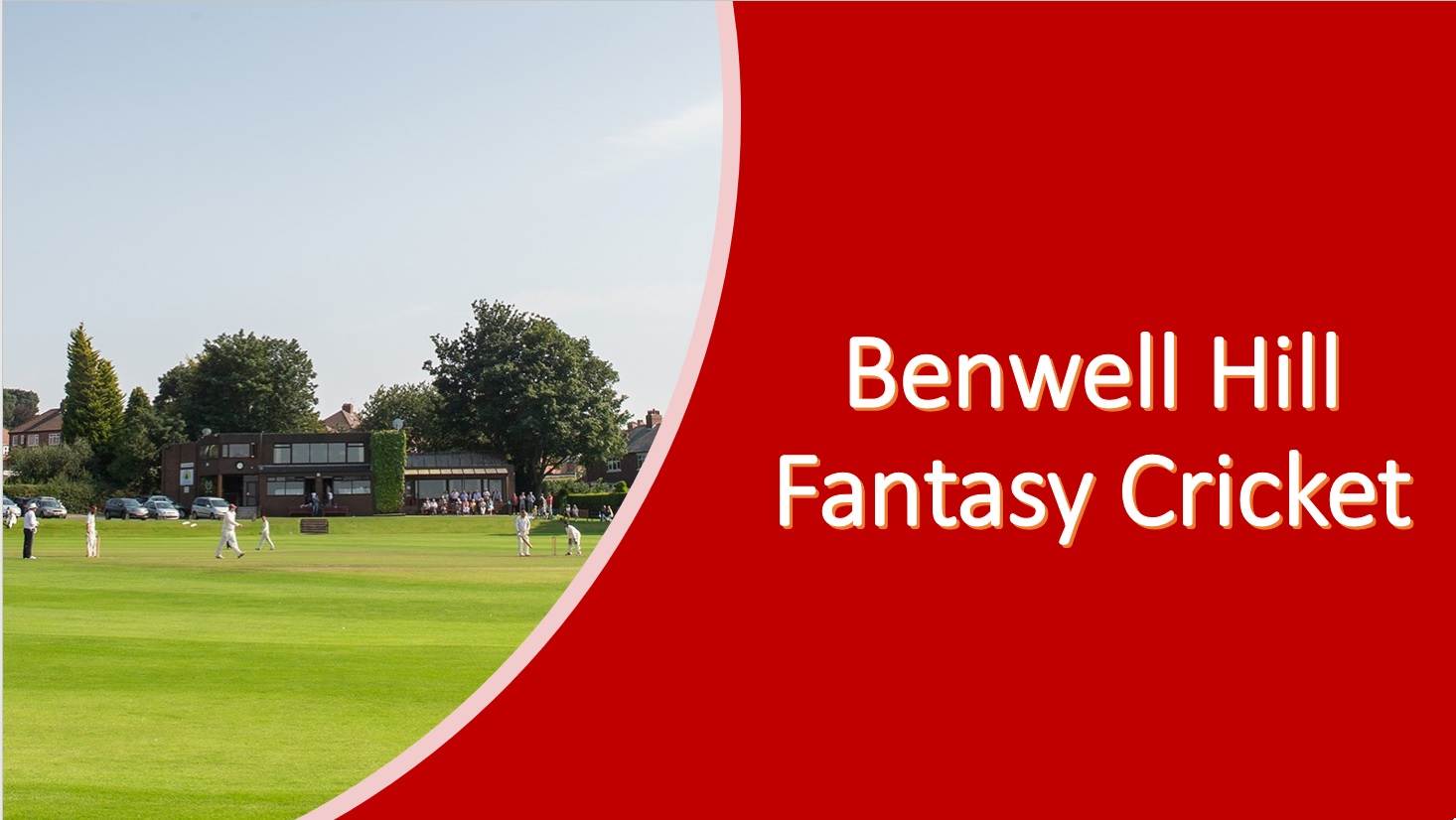 Benwell Hill Fantasy Cricket - £100 of Hill bar credit to be won