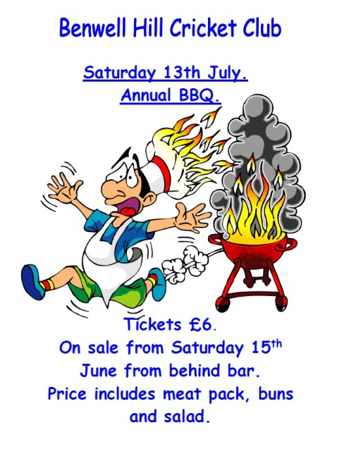 Annual Summer BBQ on 13th July