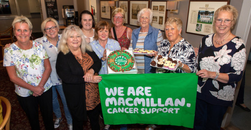 MacMillan Coffee Morning raises over £1000