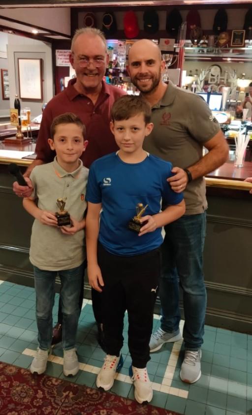 Benwell Hill Junior Presentation Night - Award winners and photos