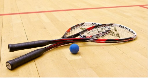Double Squash Delight : Court is open and team gain promotion