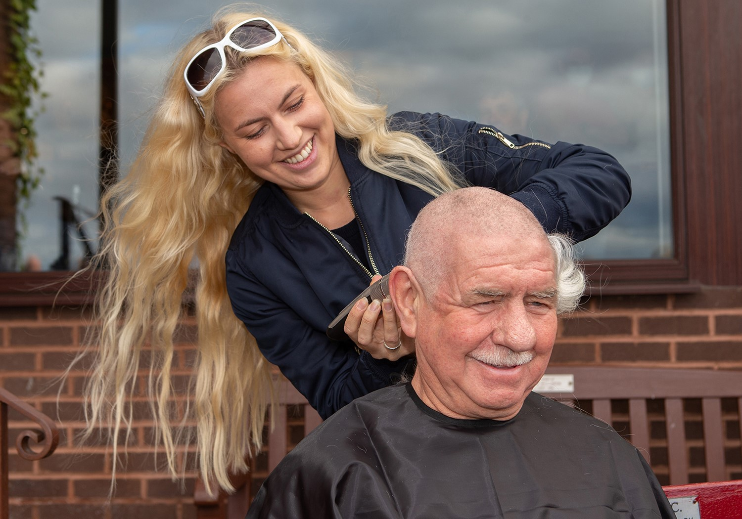 Ramsay's hair razoring experience for Marie Curie