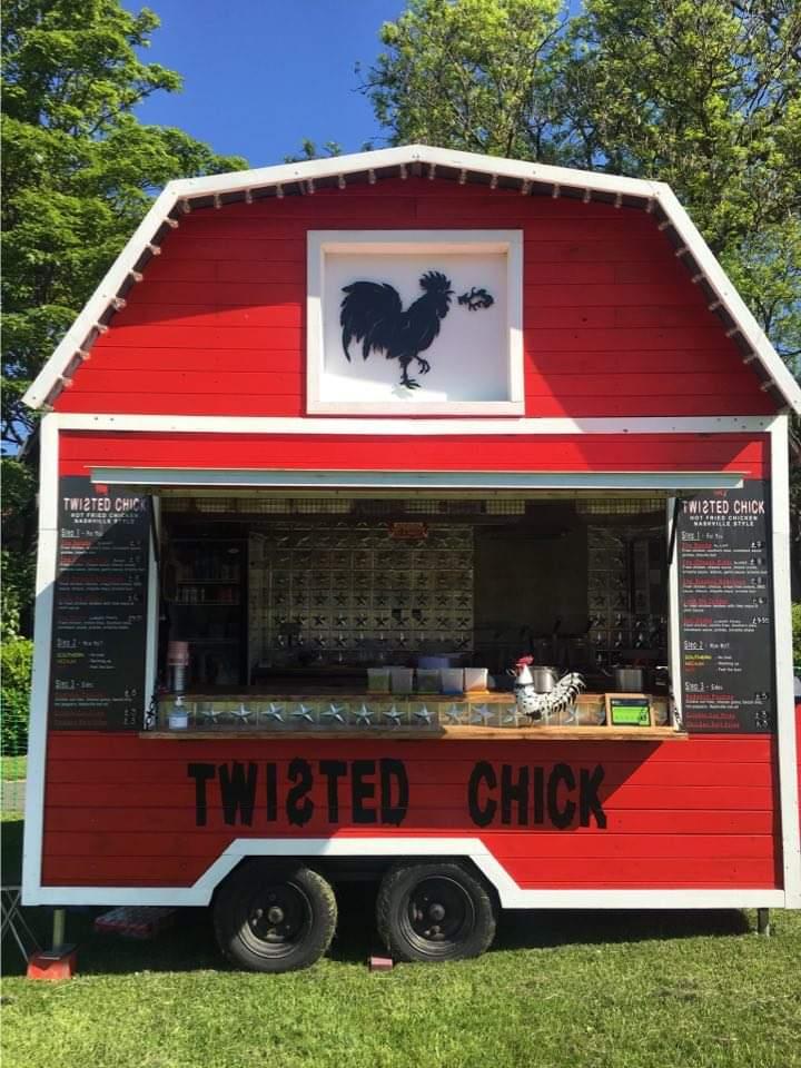 Friday 2 July NEPL Quarter Final night v Shotley Bridge and Twisted Chick food van