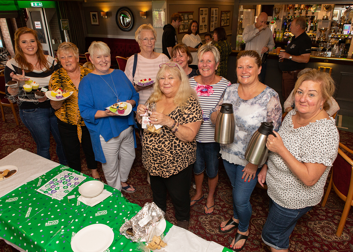 Macmillan Coffee Morning raises over £900